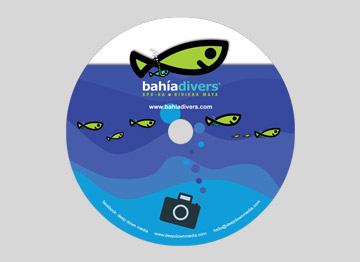 bahia divers cd label