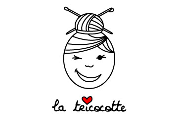la tricocotte - logo and label